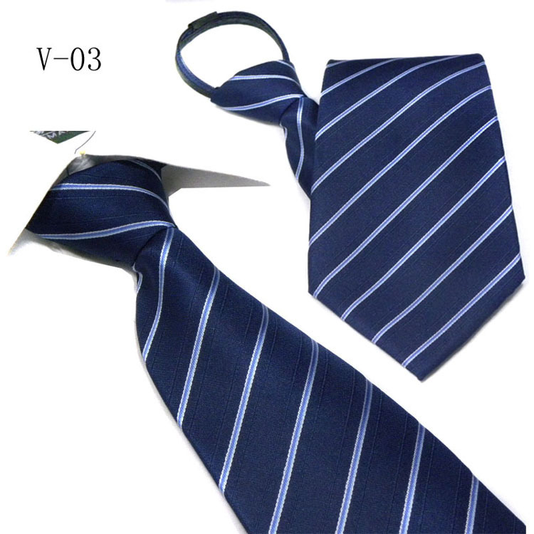 Perry pilat price men's formal wear business tie wedding tie zipper tie easy to pull tie