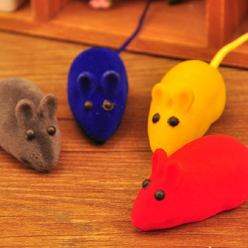 Pet sound toy mouse emulation little mouse toy cat toy mouse funny cat funny cat mouse alone