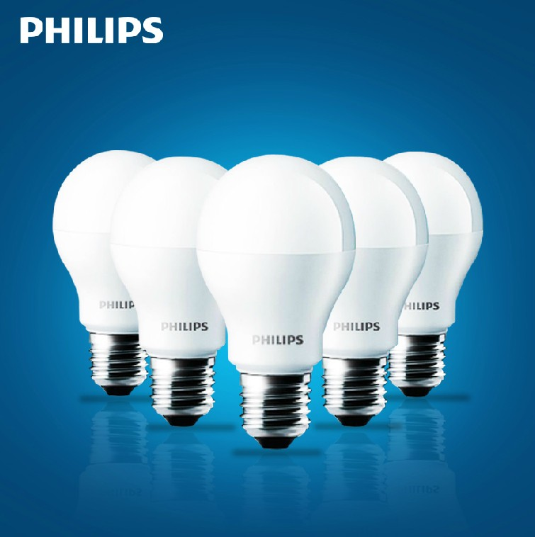 Philips energy saving lamps led bulb e27 screw energy saving light bulb super bright led light source almighty