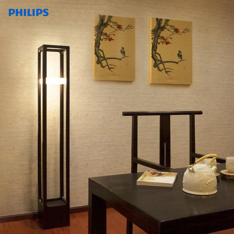 Philips led floor lamp led floor lamp bedroom den living room lamp light classical chinese ming and qing agile 30928