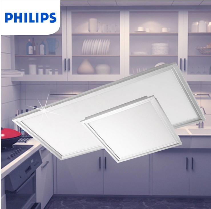 Philips led integrated ceiling light led panel light panel light lvkou lights embedded kitchen lighting module