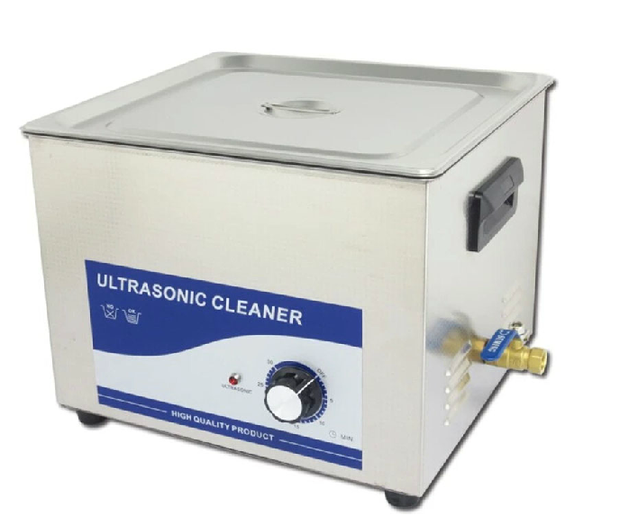Photosynthetic 15l ultrasonic cleaning machine power 360W stainless steel laboratory household ultrasonic cleaning machine