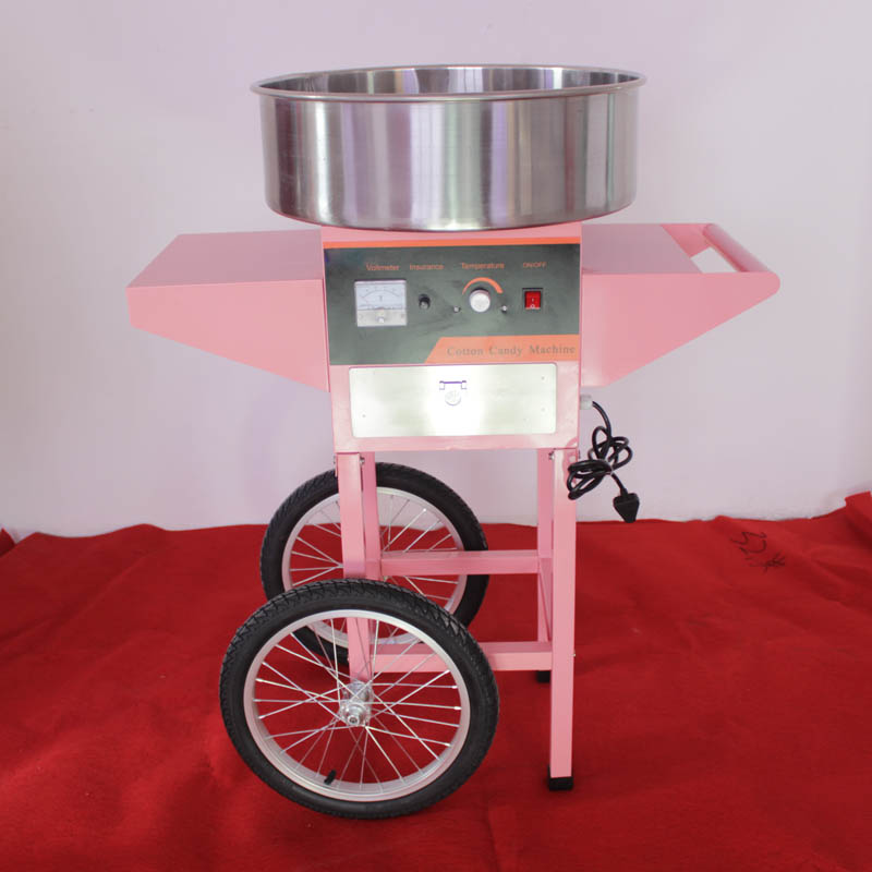 Photosynthetic electric commercial cotton candy machine cotton candy machine electric brushed cotton candy machine cotton machine with wheels trolley