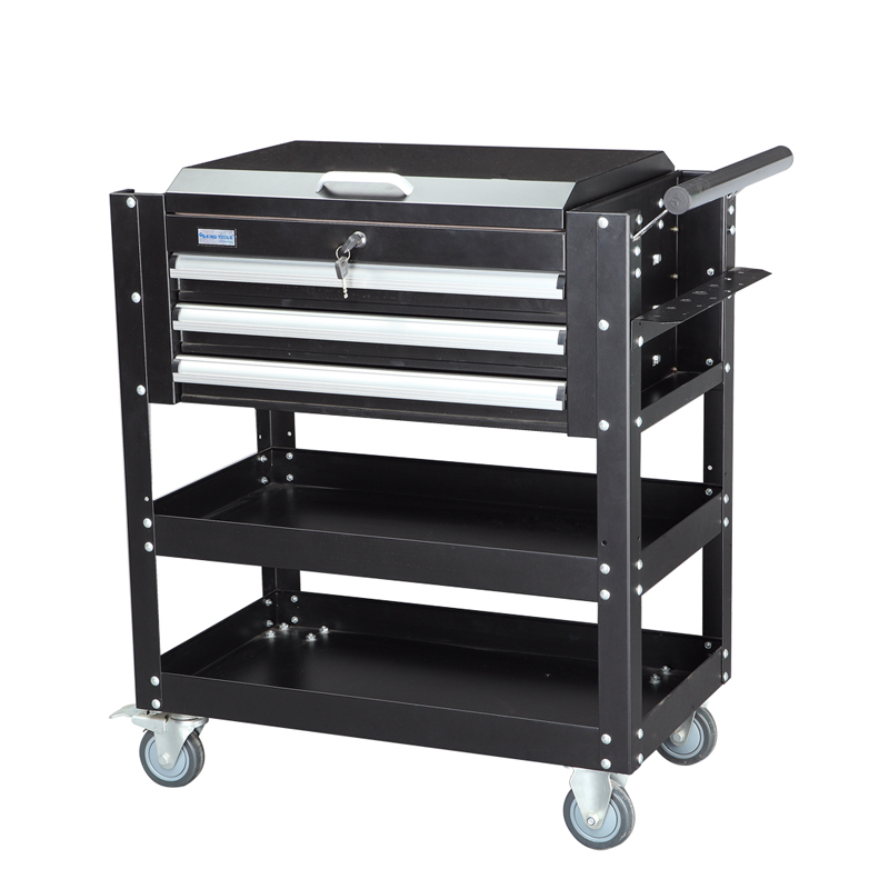 Photosynthetic open removable removable tool cabinet tool cabinet with a layer 3 drawer clamshell household tool cart