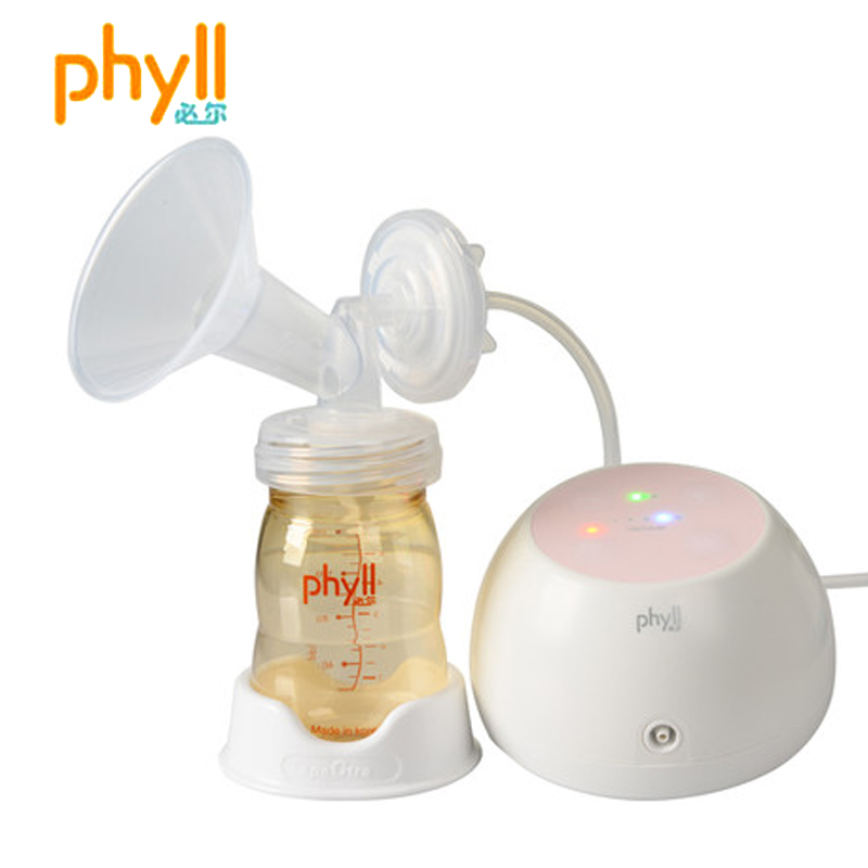 Phyll will be in seoul south korea imported rechargeable electric breast pump breast pump automatic pumping milk