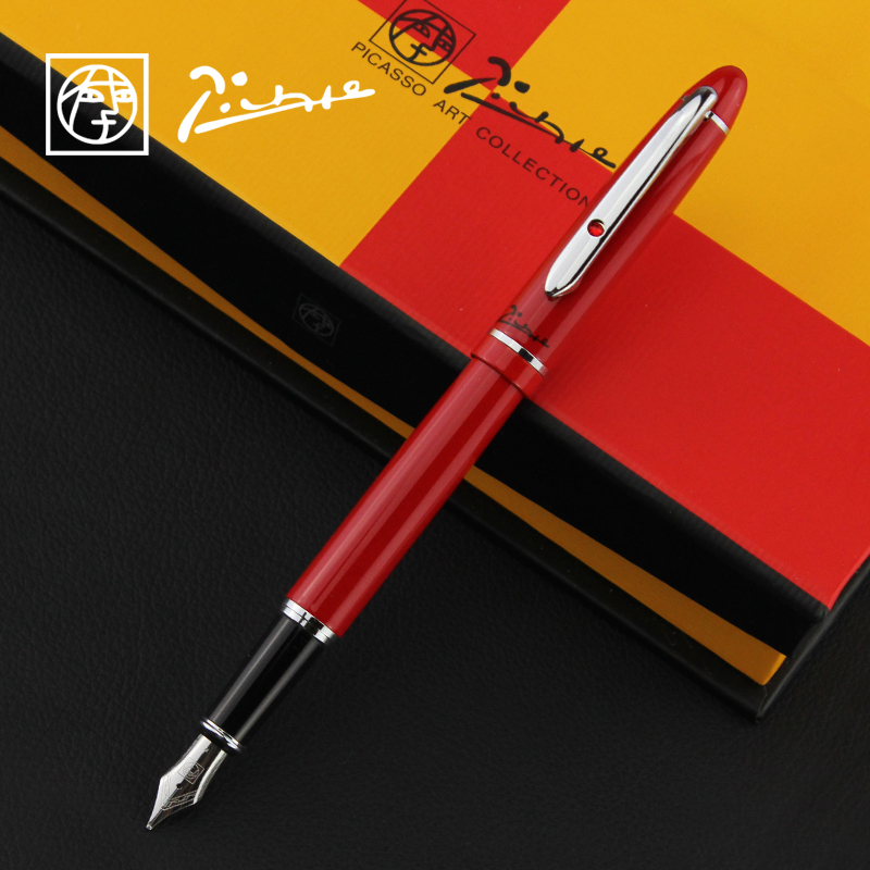 Picasso 608 angela ritz iraurite exquisite gift boxes with pen writing calligraphy pen pimio genuine
