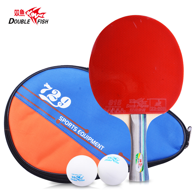 Pisces genuine table tennis bats sided anti 1a 2a 1 star 2 star table tennis table tennis racket to send the finished film sets