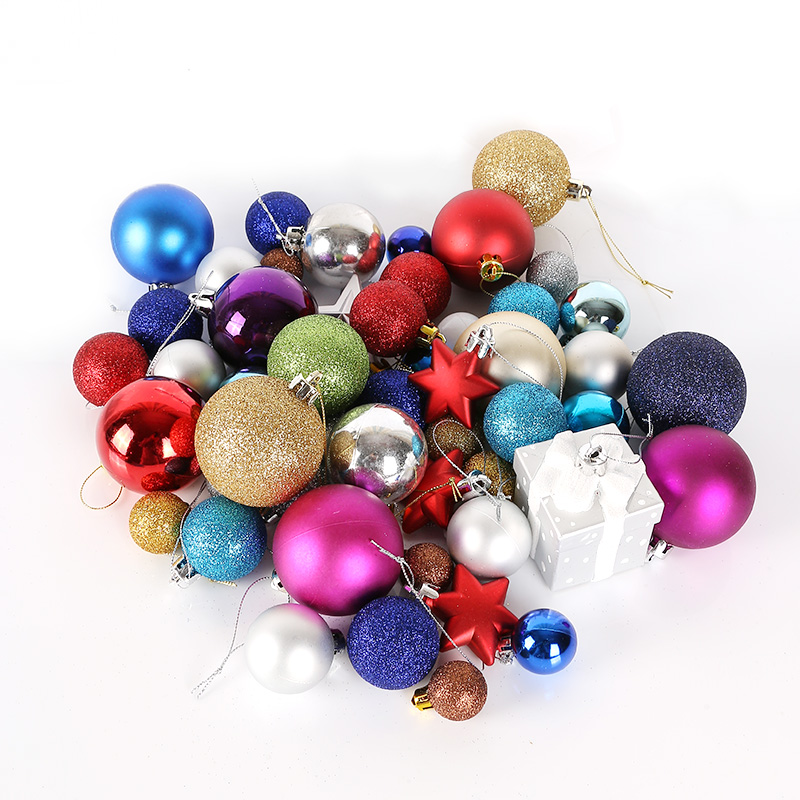 Plating ball christmas decorations christmas tree package supermarket shopping malls wine shop window ornaments ornaments accessories package