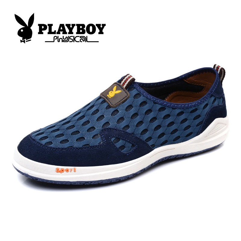 Playboy men's england breathable men's casual shoes mesh shoes men's summer mesh breathable mesh shoes men shoes