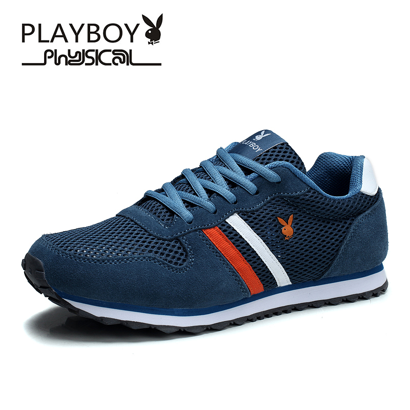 Playboy/playboy men's summer shoes breathable mesh shoes sports shoes mesh shoes running shoes shoes