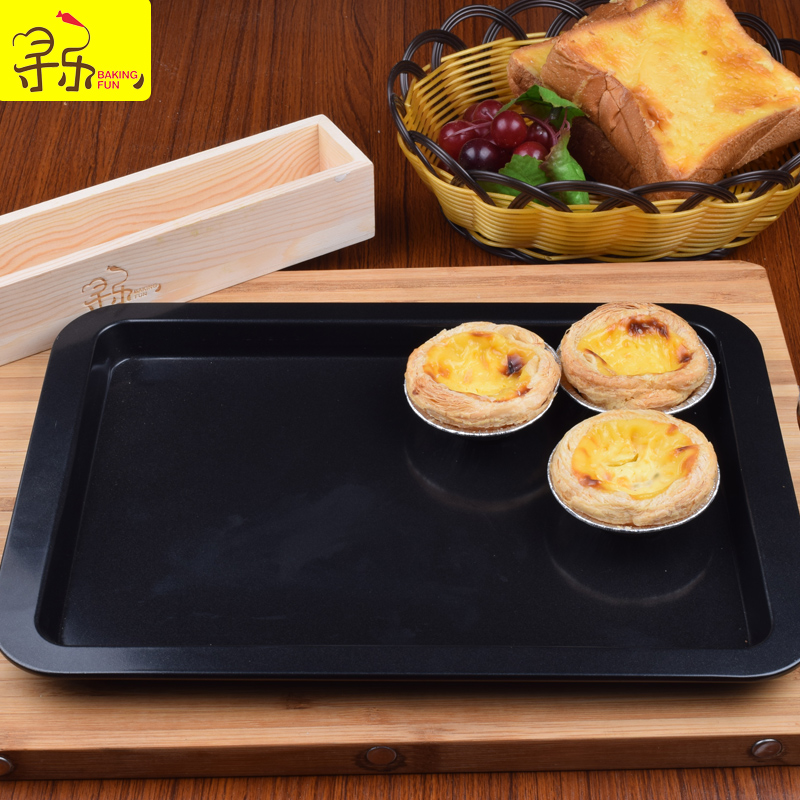 Pleasures rectangular baking pan nonstick oven with baking tools to do the cake bread pan with nonstick cookie