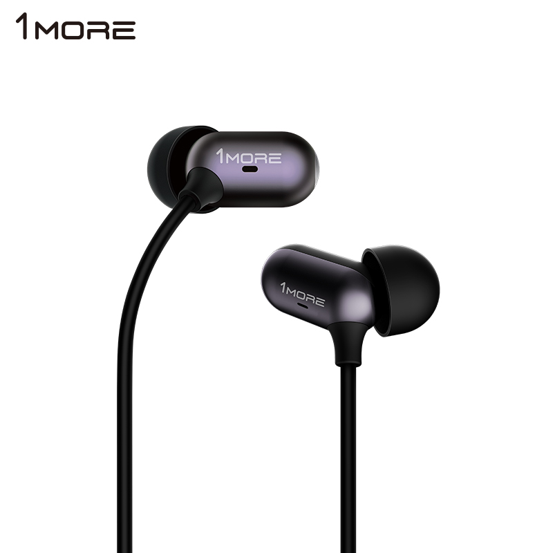 Plus a lianchuang 1MORE capsule ring iron headphones ear headphones with wheat wire phone headset earbuds