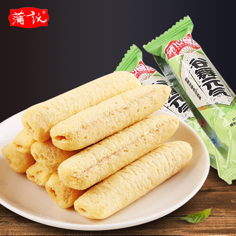[Po yee-sichuan bulk series] rice crackers rice roll energy bars brown rice roll energy snack snack flavors