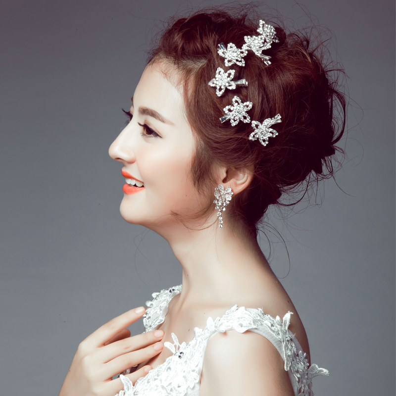 Get Quotations Poetry Jiaqi Na Stars Bridal Headdress Korean Wedding Jewelry Hair Accessories
