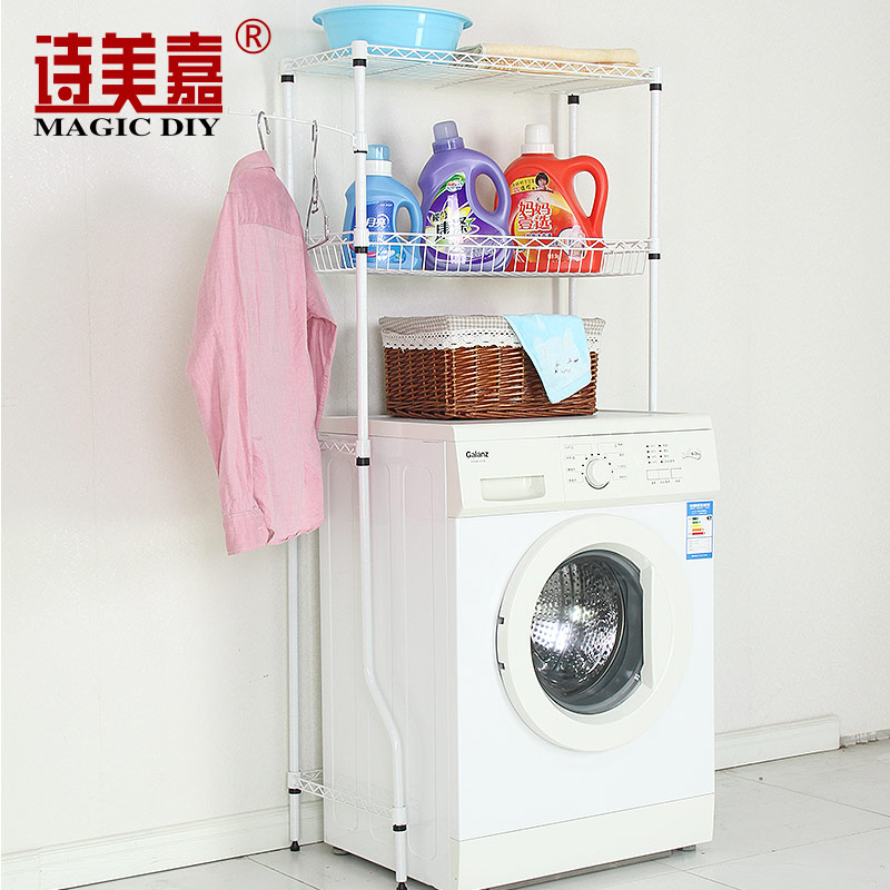 Poetry mika bathroom shelf bathroom toilet angle bracket washing machine racks toilet toilet shelving racks balcony