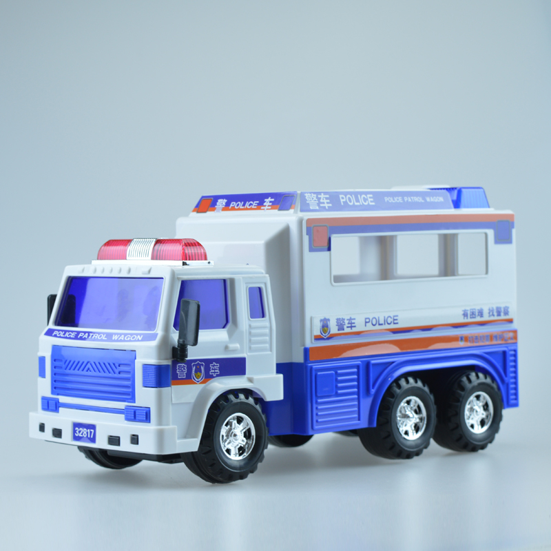 Police car toy car oversized lee coasting car ambulance police car model child boy toy car