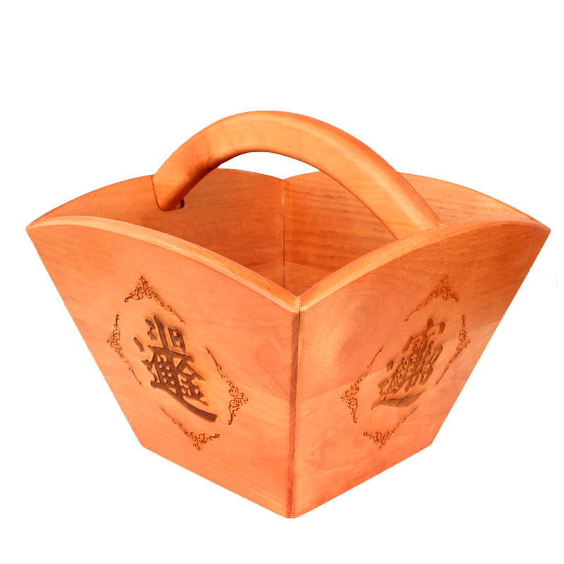 Poly edge feng shui house archaized m bucket ornaments rijindoujin ornaments mahogany mahogany lucky cai home accessories