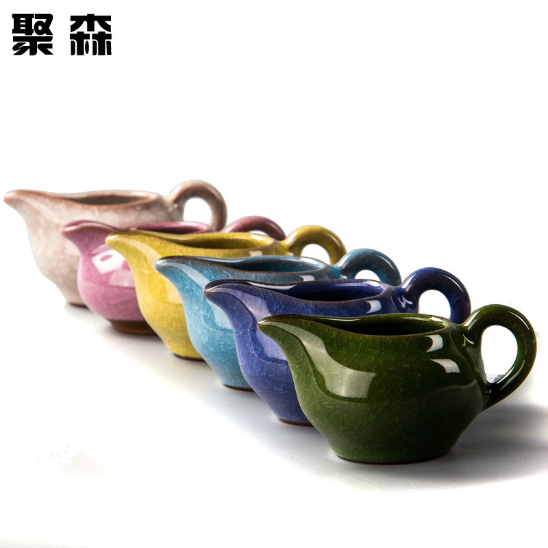 Poly sen ceramic binglie binglie glaze kung fu tea accessories tea sea fair cup points tea cup male thickening