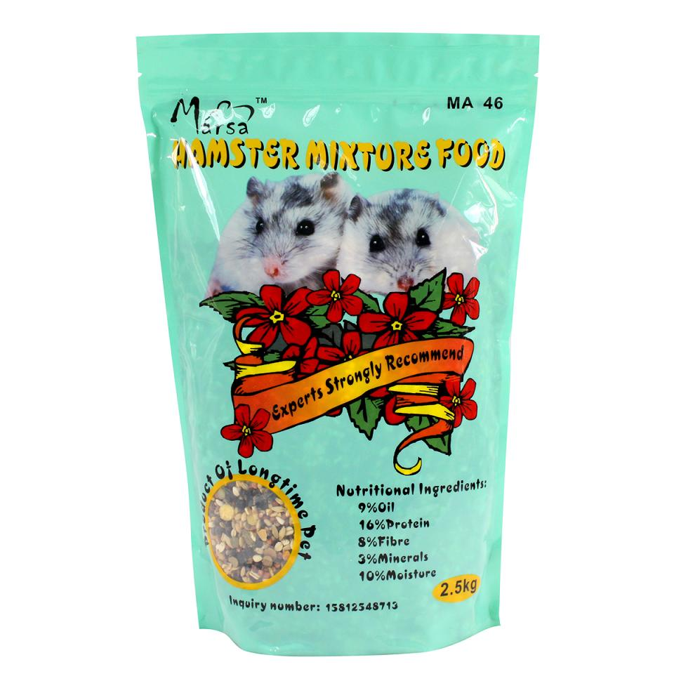 Porch net pet food ma46 martha hamster hamster food staple food hamster hamster food 5kg feed fruit