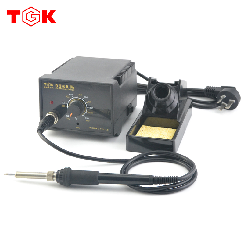 Positive moral supremacy antistatic 936 thermostat soldering station 936 soldering station soldering station adjustable thermostat electric iron suit TGK-936A