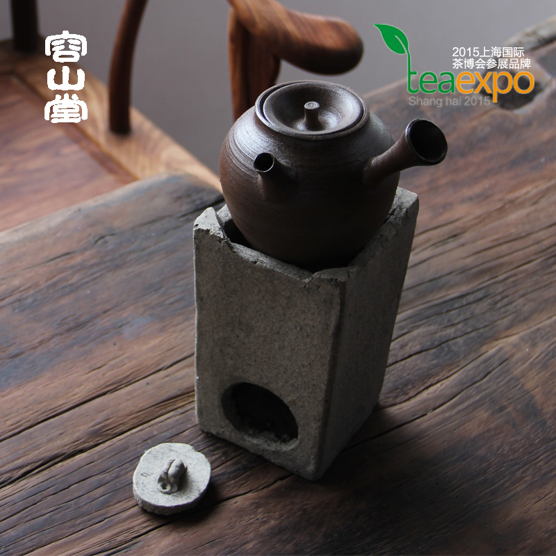 Preferably darongshan hall handmade zhuni nai charcoal iron clay pot copper pot dedicated charcoal stove alcohol stove wind