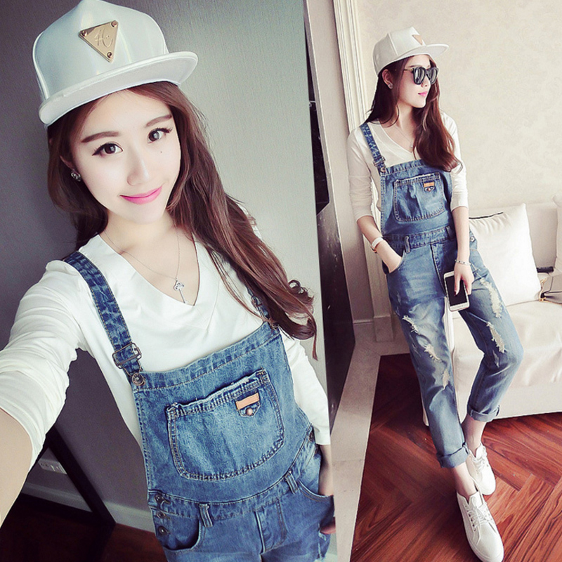 Pregnant women denim overalls pants trousers spring maternity pants suspenders piece pants thin section wide leg pants summer leggings pregnant women