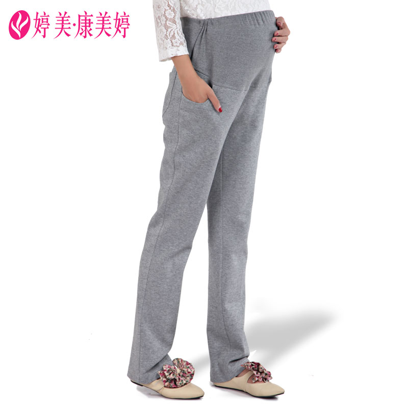Pregnant women pants trousers care of pregnant women belly pants pants cotton maternity spring pregnant women leggings maternity pants spring pregnant women trousers