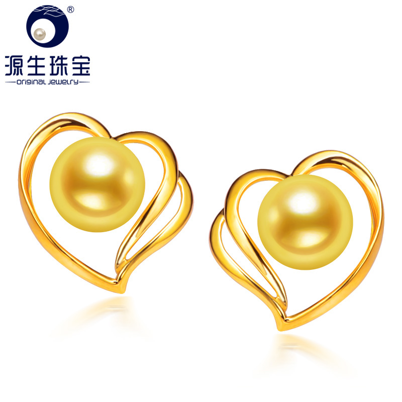 Primal jewelry heart xin akoya sea pearl earrings k gold pearl earrings earrings earrings korean earrings to send his girlfriend