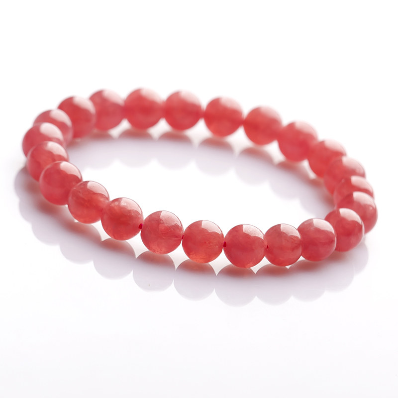 Princess crystal ice kinds of natural argentine rhodochrosite bracelet genuine female models specials sanguineness 6-11mm 12mm bracelets