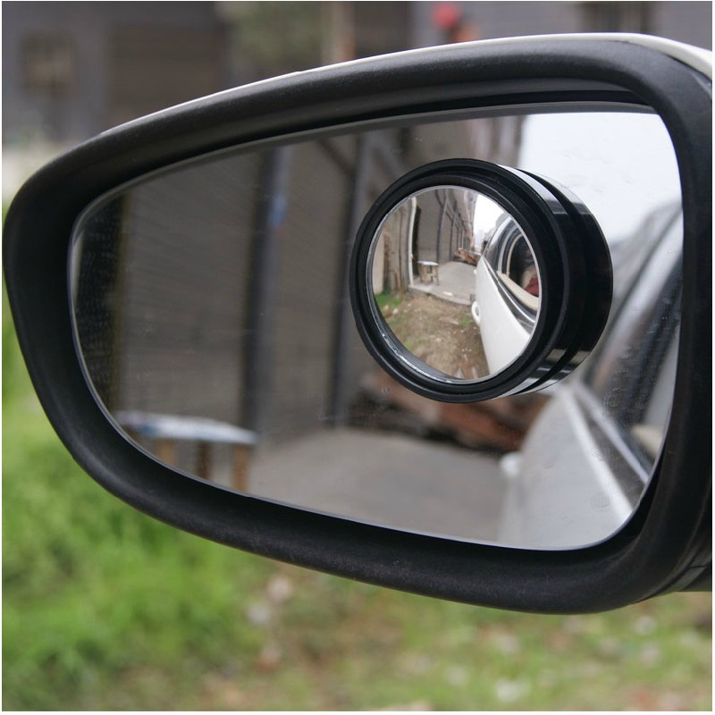 Proton Car Side Mirror Rearview Small Round Blind Spot Wide