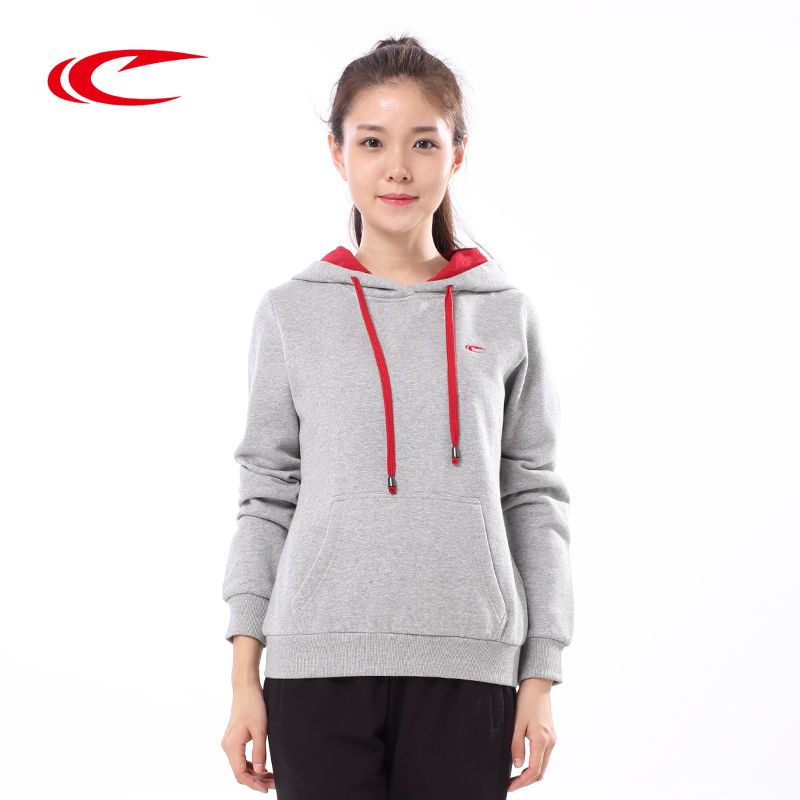 Psyche female hooded sweater 2016 autumn new warm breathable knit tops fashion sportswear female coat with disabilities