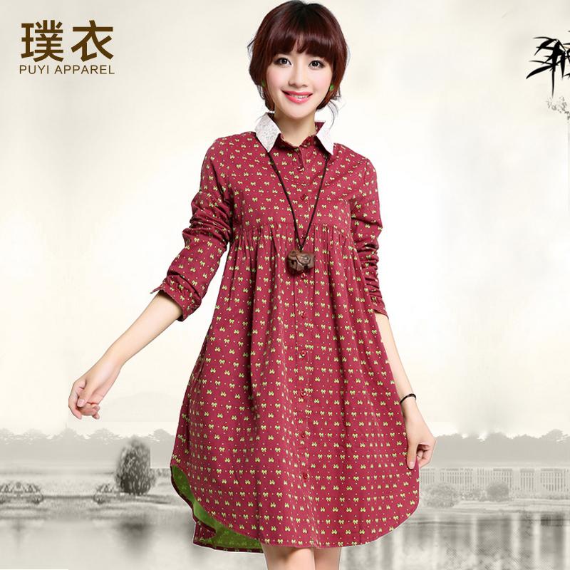 Осеннее платье для беременных фото 25