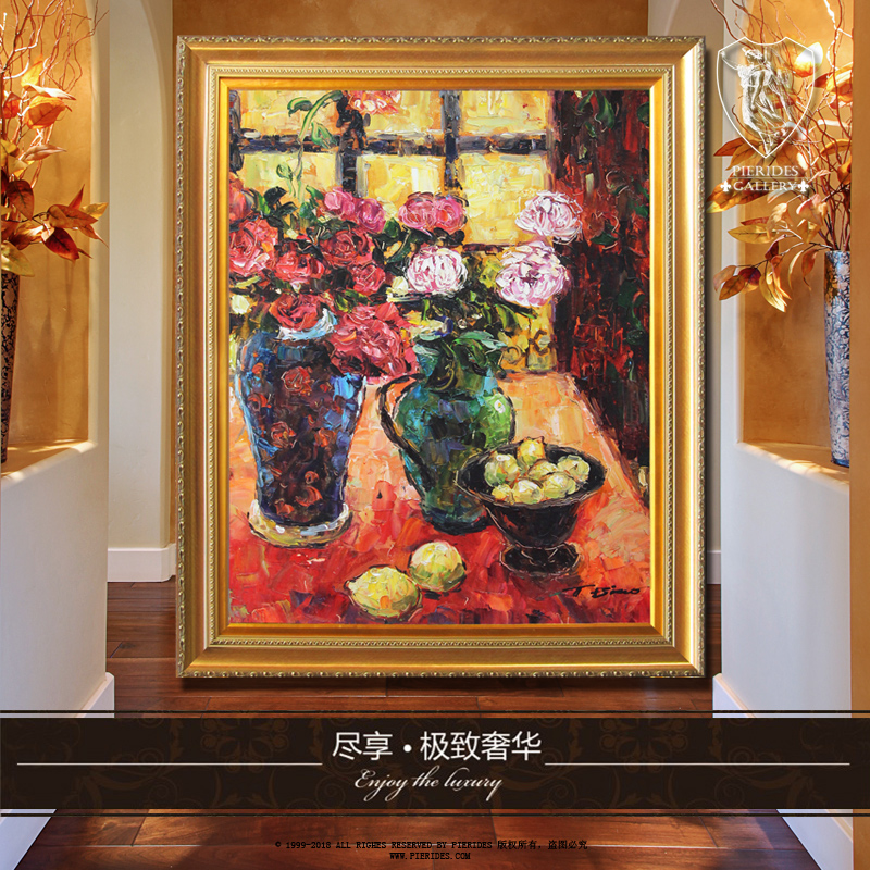 Puri fernandez pure hand painted oil painting van gogh painting home decorative painting the living room upscale hotel restaurant painting painting authentic
