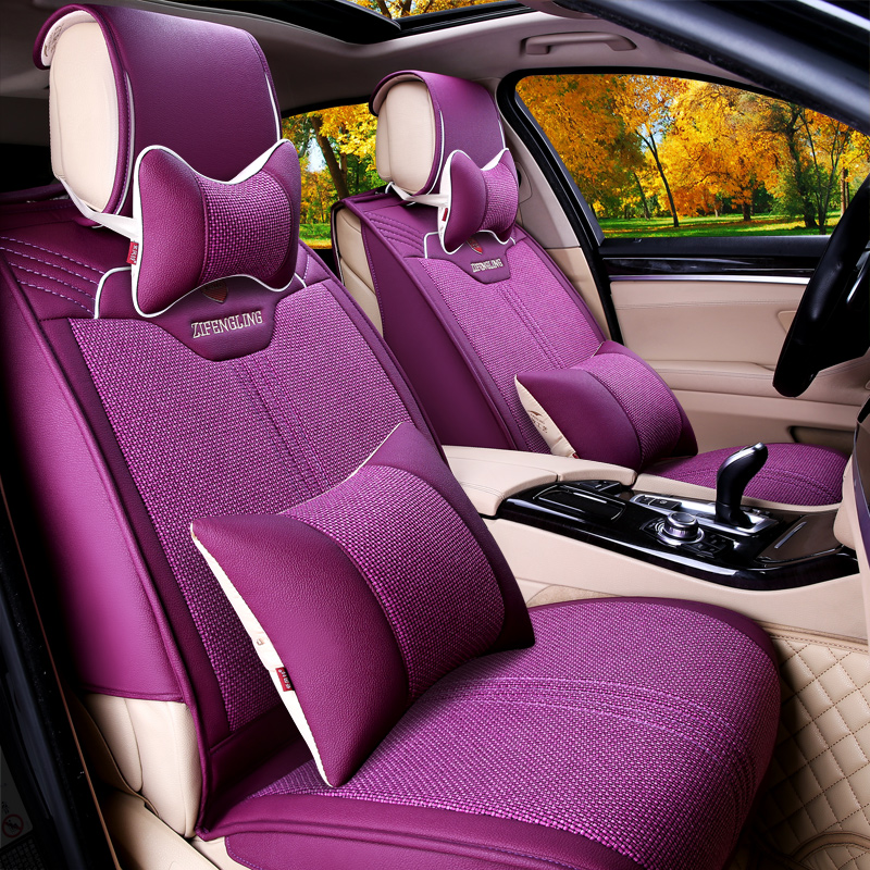 Purple bells new four seasons k3 lacrosse camry accord crv ling send the whole package seat cushion car seat cushion f25