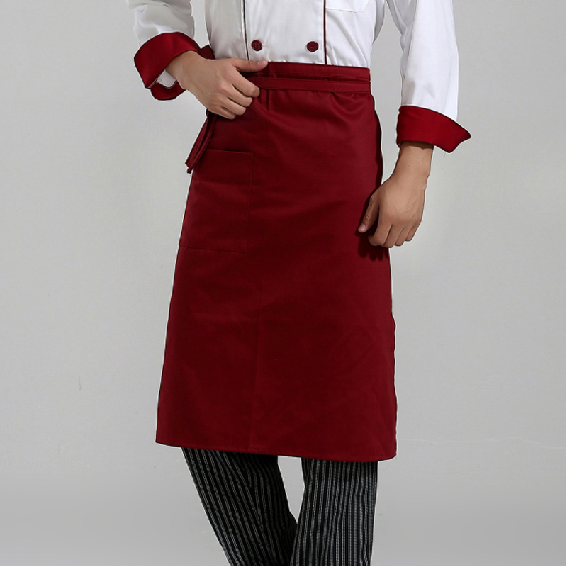 Qi yu feng department bust waist apron chef waiter aprons aprons hotel restaurant kitchen aprons work aprons
