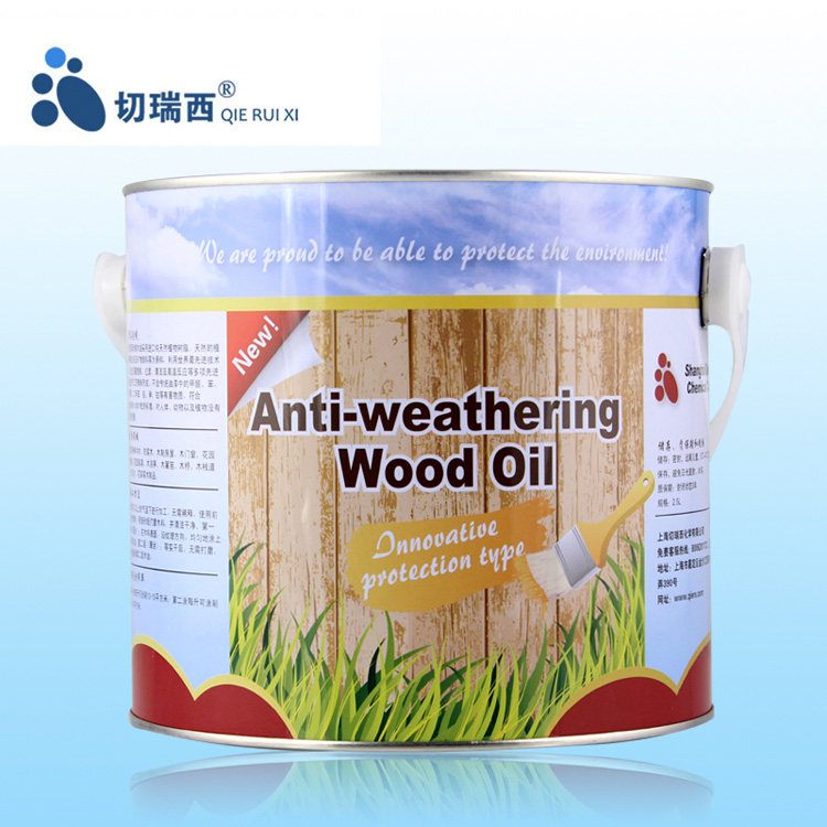 Qierui xi wood preservative oil weathering wood oil wood wax base oil tung tung wood preservative outdoor wood paint