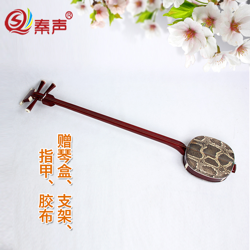Qin professional color wood banjo strings ethnic plucked instruments send qinhe upscale full range of professional accessories free shipping