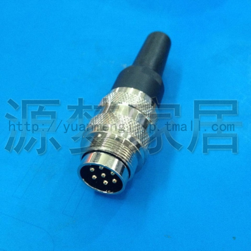 Quality waterproof aviation plug fixed circular style imitation pentax amphenol C091-7 5-pin connector
