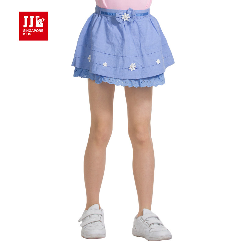 Quarter after quarter lok kids girls summer new children's skirt girls bust chiffon skirt bust skirt summer skirt