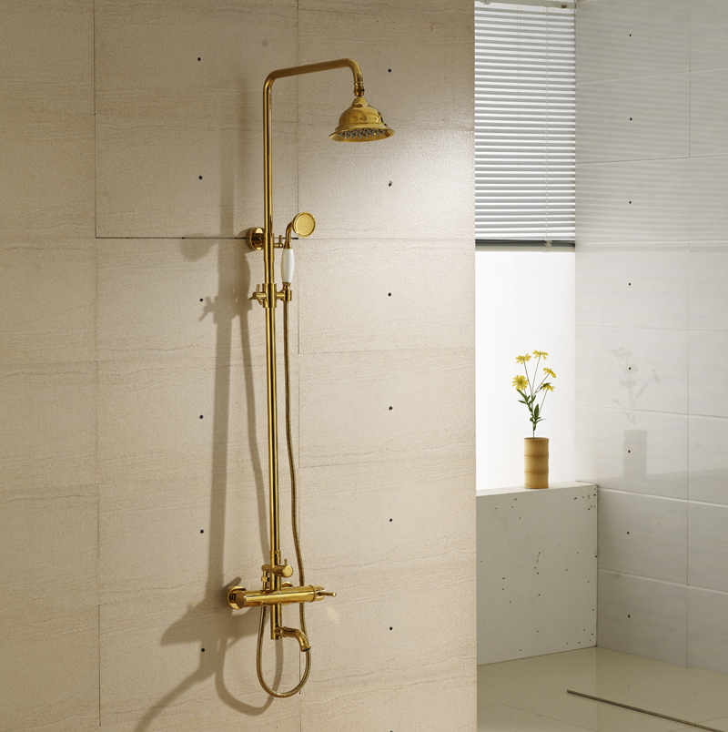 China Gold Shower Mixer, China Gold Shower Mixer Shopping Guide at ...