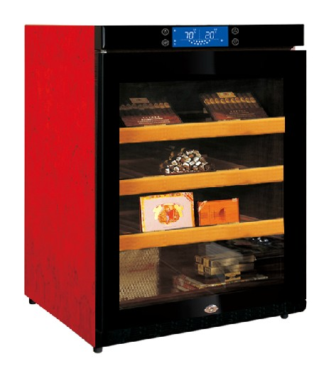 Raching/us grain C150A wood constant temperature and humidity cigar cabinet cigar humidor cabinet humidor imported compressor