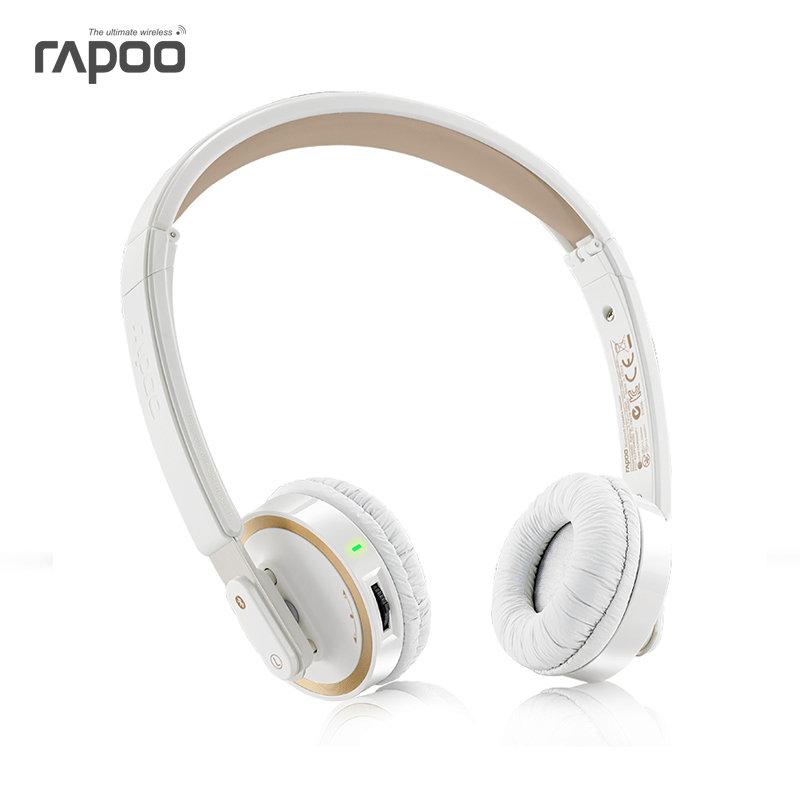 Rapoo/pennefather h6080 bluetooth headset wireless headset stereo bluetooth headset mobile computer headset folding
