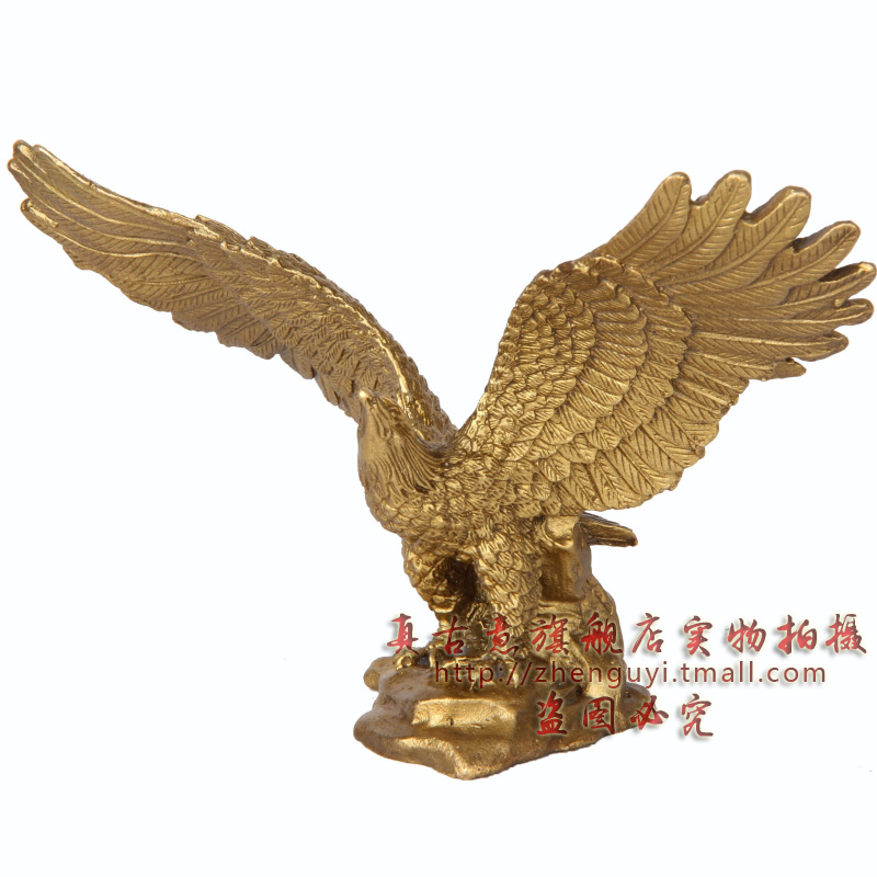 Really ancient italian dapeng wings eagle grand plans for the opening of pure copper copper eagle ornaments office opening gifts