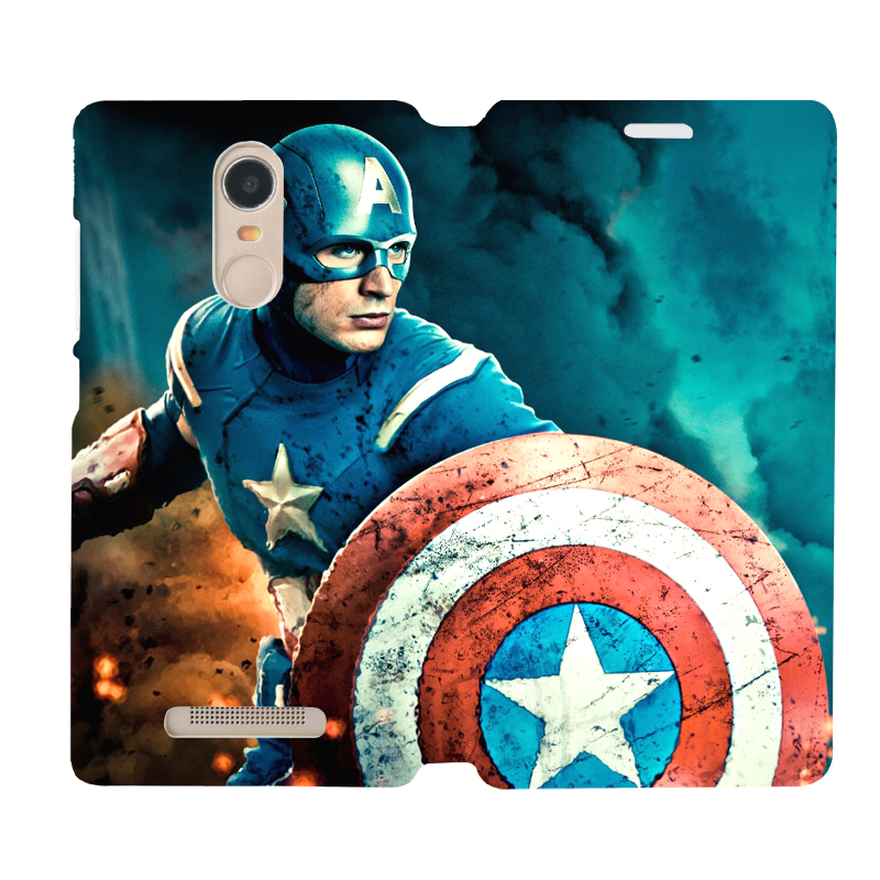 Red rice red rice note3 leather holster millet millet red rice red rice 3 protective shell holster holster phone shell custom avengers