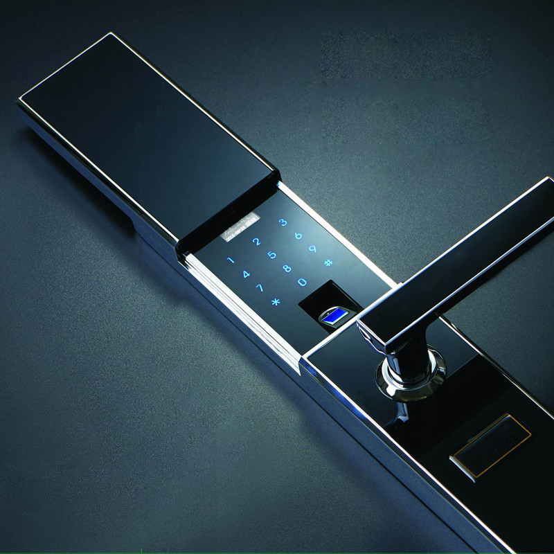 Remote home security door security door lock smart lock lock lock electronic lock secret code lock security door fingerprint lock fingerprint lock