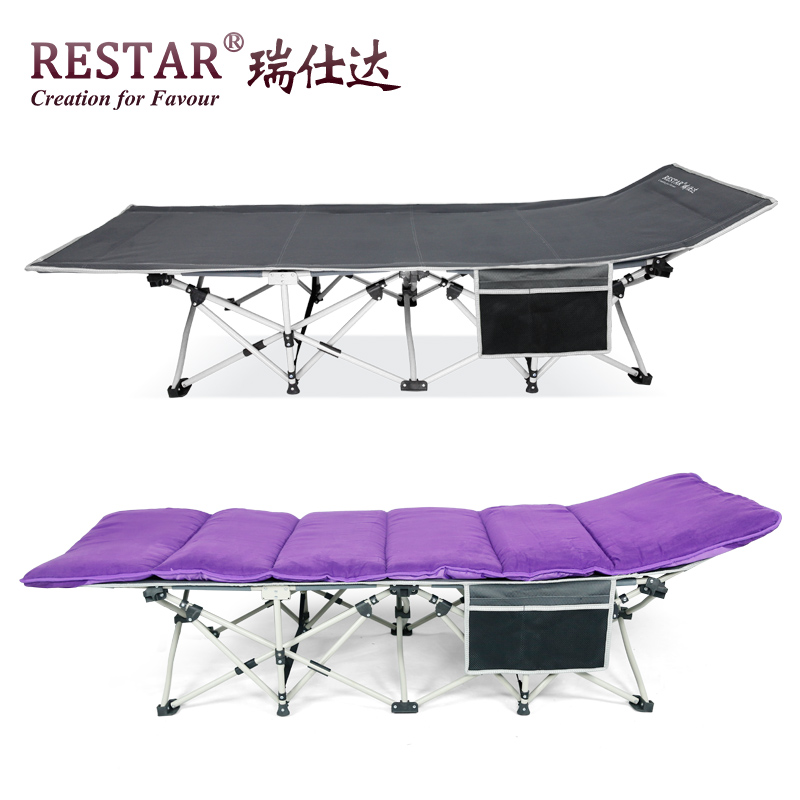 Restar rui shida with the side of the bag folding bed folding bed single bed office lunch nap bed accompanying summary