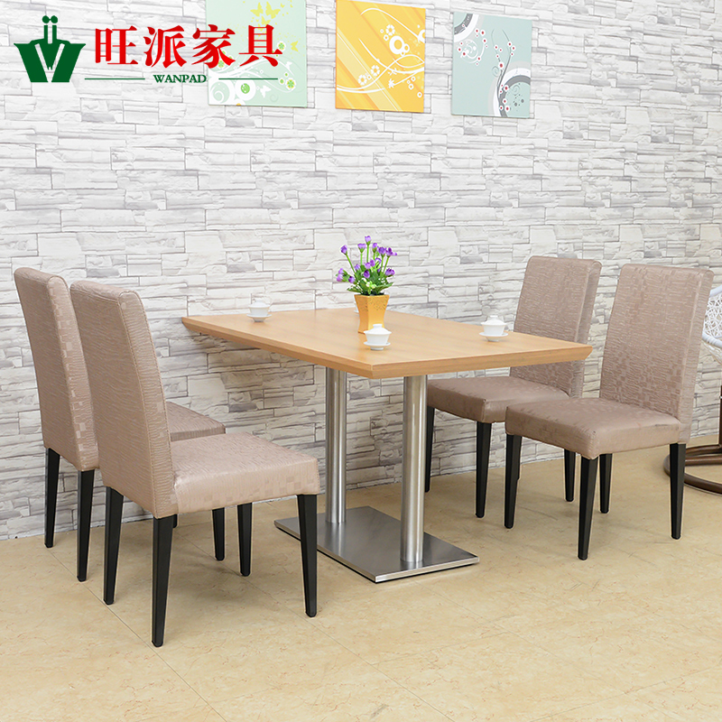 Restaurant tables and chairs cafe cafe tables and chairs combination of scandinavian modern minimalist wood dining tables and chairs customized