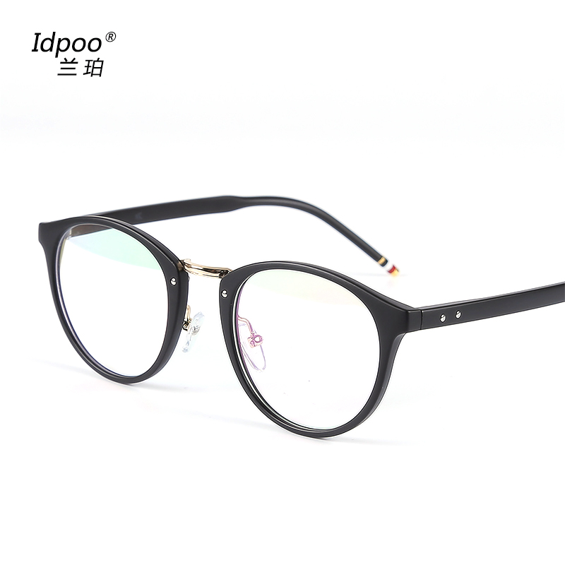 774abfa26d5 Get Quotations · Retro round little face frames myopia eyeglass frames for  men and women korean tidal simple personality