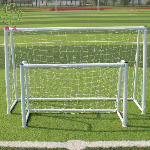 Rhyme into three systems, four infutsal adolescents portable casual football door, house with the goal, Equipped with net