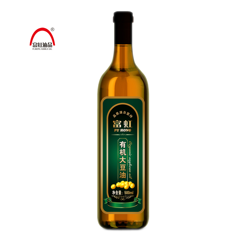 Rich rainbow pefrson non genetically modified organic soybean oil (vegetable oil)